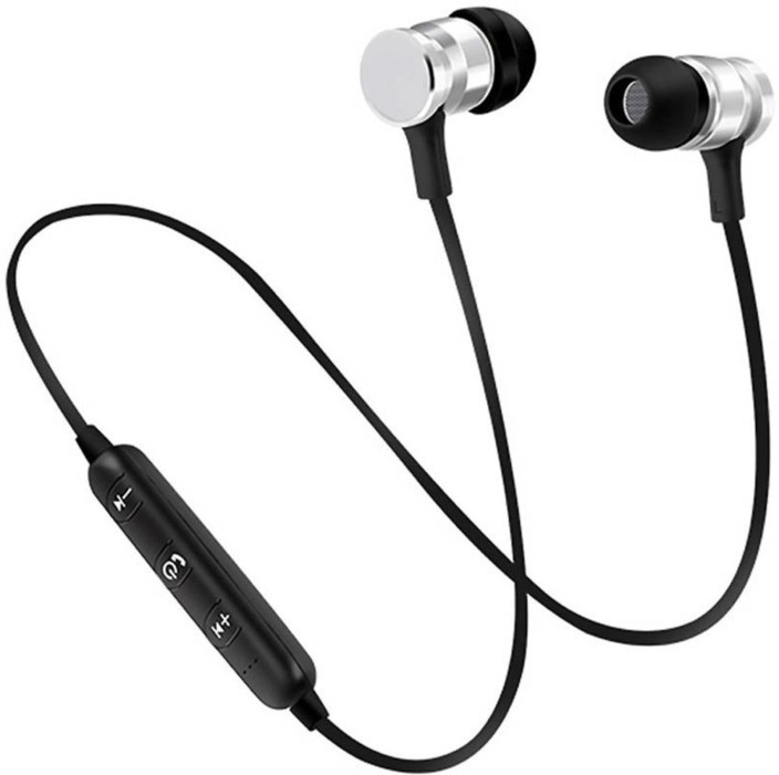 Yumato Magnet Stereo Bass Head Hands Free Headset Earbud In Ear