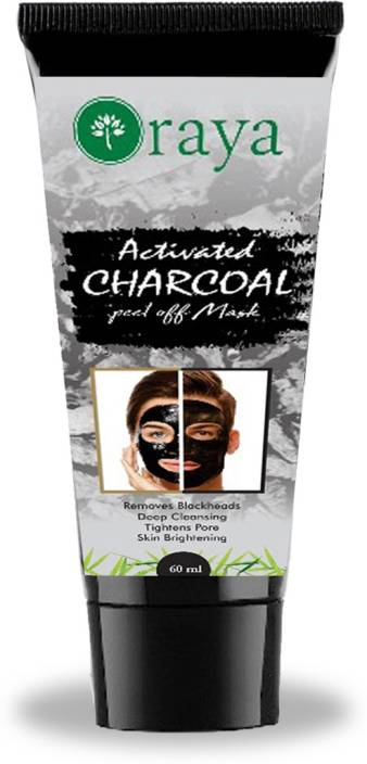 Oraya Activated Charcoal Peel Off Mask For Blackheads Removal, Deep