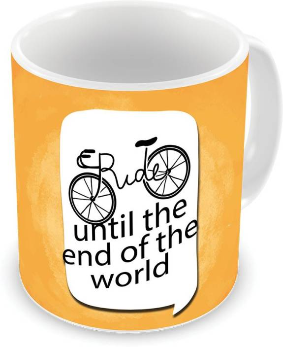 Illuminati Gifts Ride Until The End Of The World Quote Printed