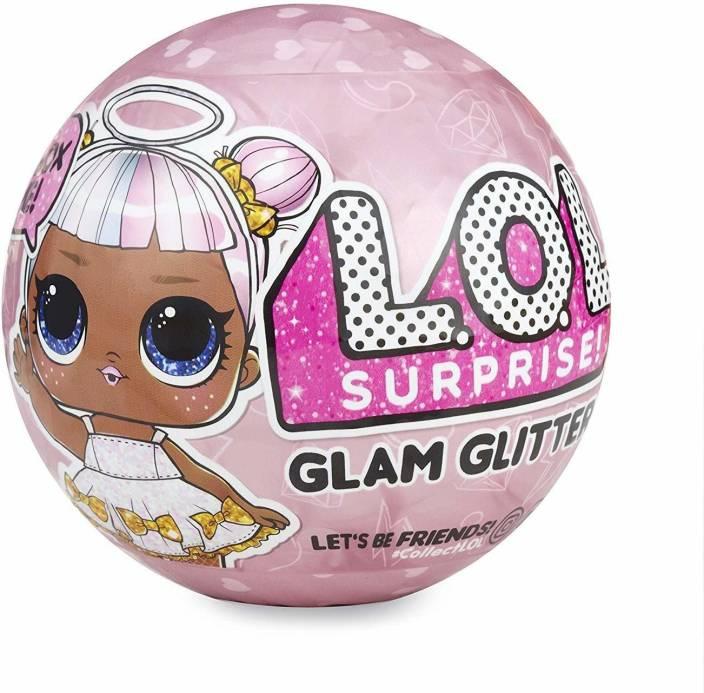 Ancientkart Lol Surprise Lil Sisters Glam Glitter Series 10 Cm