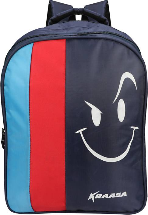 Kraasa Smile Waterproof School Bag