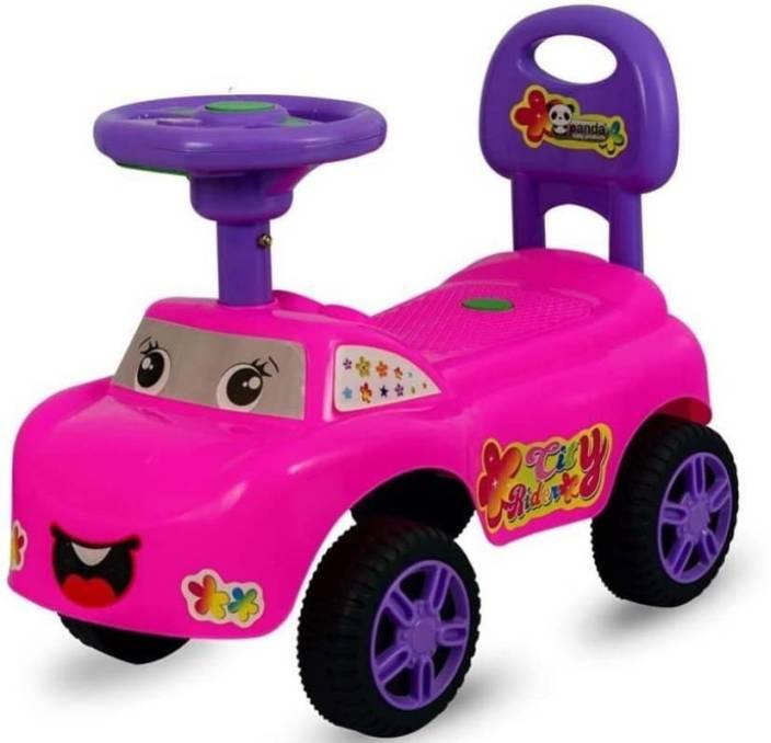 Car For Kids >> Vihaa Ride On Car For Kids City Rider Ride On Car Baby Ride On Car Push On Toy Car For Kids Toddlers Toy Car For Baby Non Battery