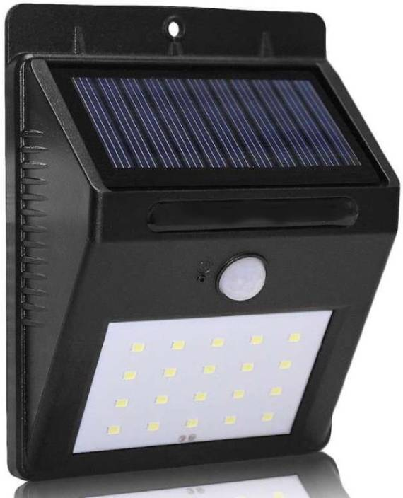 webster Automatic Motion Activated Sensor Solar Power Led