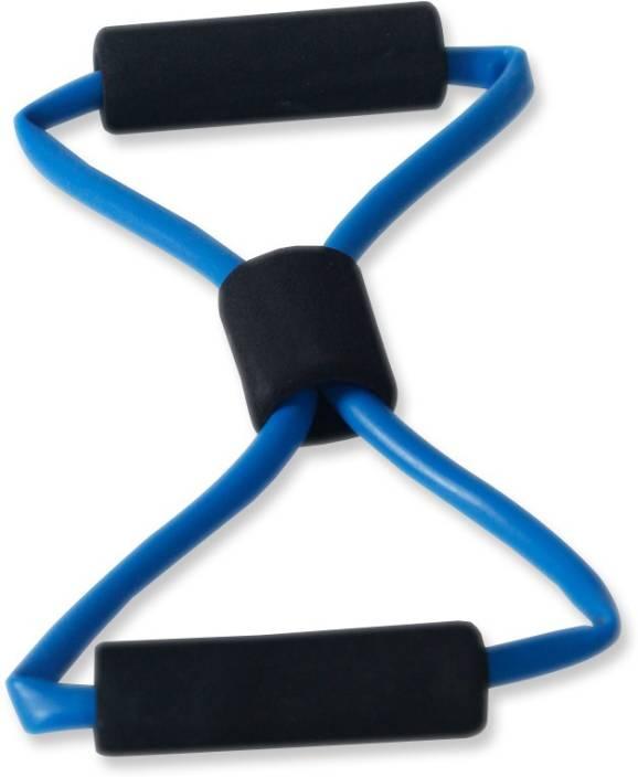 Fitpro Rubber Chest Expander Yoga Resistance Chest Exerciser Resistance Tube Blue