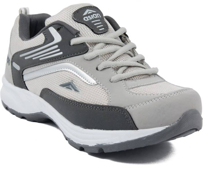 Asian Future-01 Grey Running Shoes 3a6c95f9f