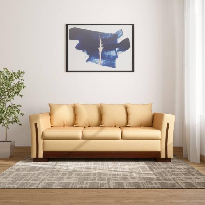 Kurlon Brisbane Fabric 3 Seater Sofa