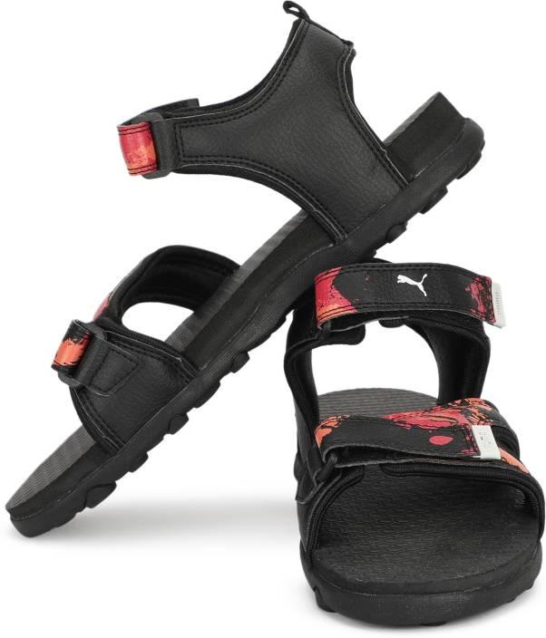 Puma Boys & Girls Velcro Sports Sandals