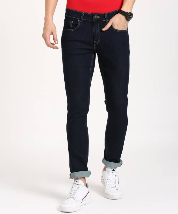 Metronaut Skinny Men's Dark Blue Jeans