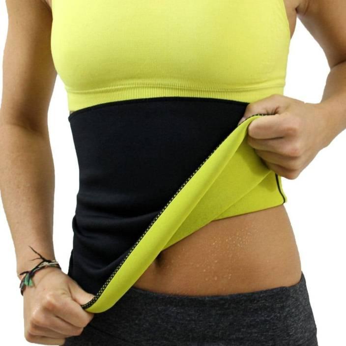 95079ef5812f2 Rosevestla XXL High Waist Body Shaper Neoprene Sweat Sauna Slimming Belt  (Black)