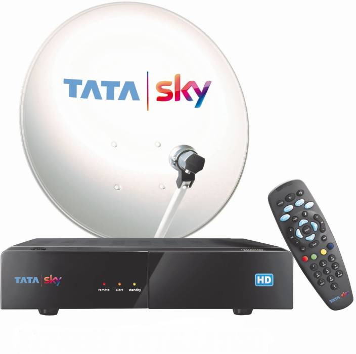 Tata Sky HD Box with One Month Marathi Hindi Family Kids
