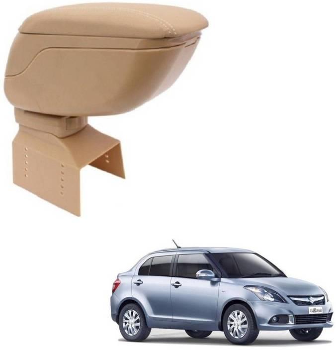 Carsaaz Car Armrest Console Beige for MARUTI SUZUKI SWIFT DZIRE Car