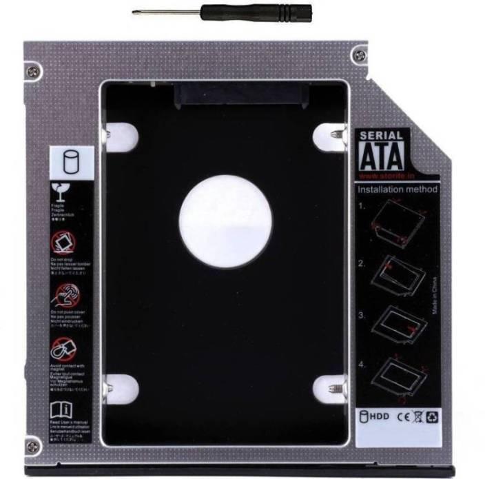 HexaGear 9 5mm Universal 2nd Hard Drive Bay Caddy For CD/DVD-ROM