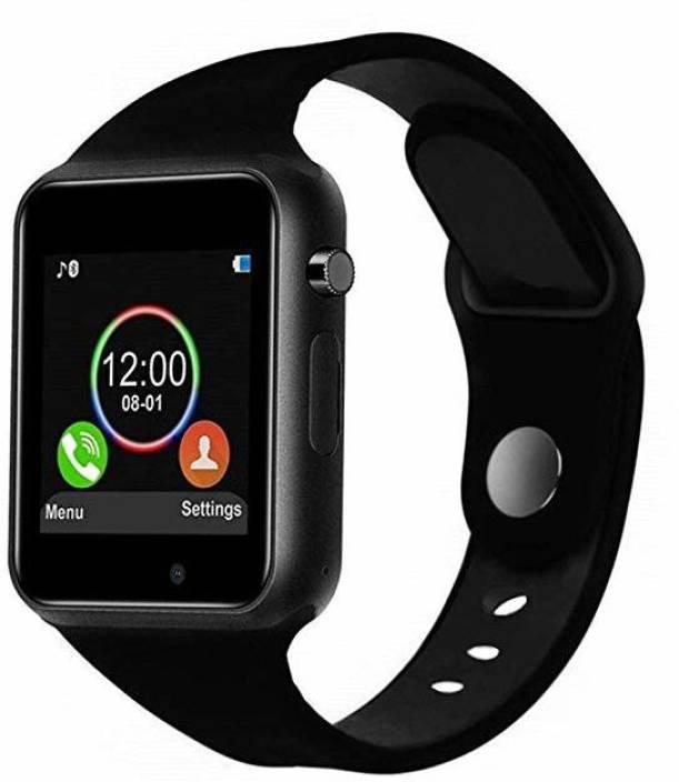 5b524e0b6 Buy Genuine A1 Smart Watch with Multifunctions Black Smartwatch (Black  Strap Regular)