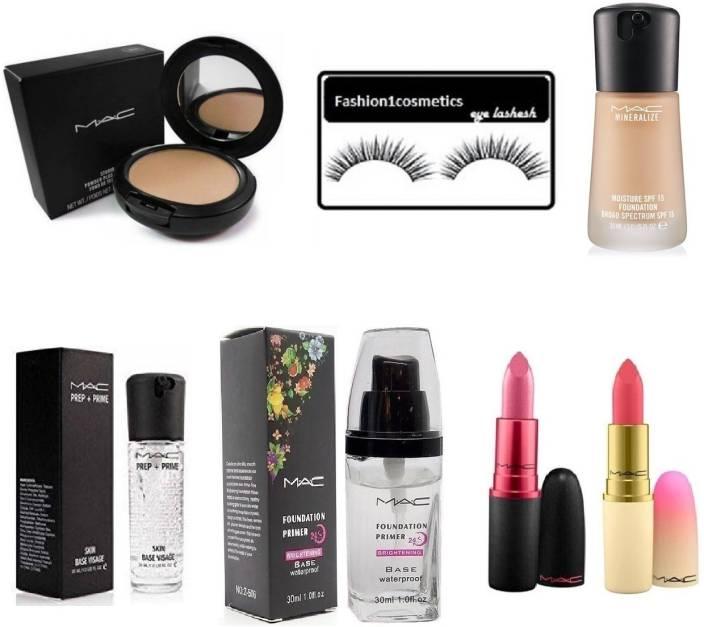 FASHION1COSMETICS Mac makeup kit (Set of 7)