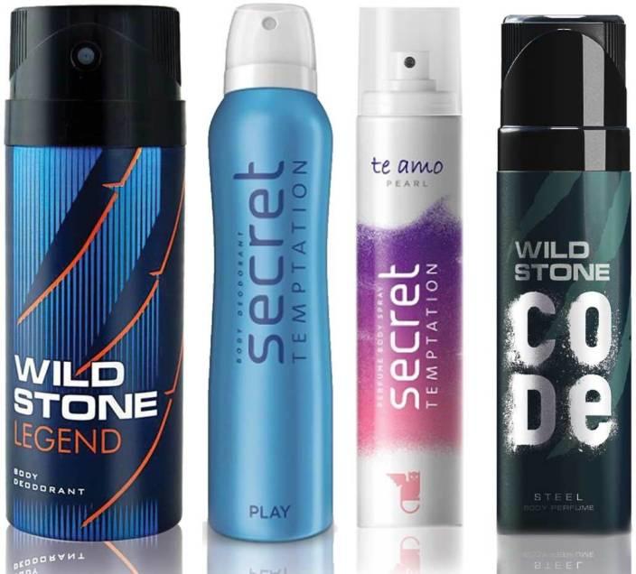 Wild Stone Legend Deodorant (150 ml), Code Steel Body