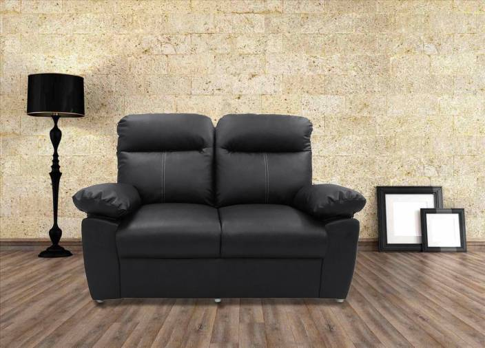 c630a5546ab9 Sofame Diana Leatherette 2 Seater Sofa Price in India - Buy Sofame ...