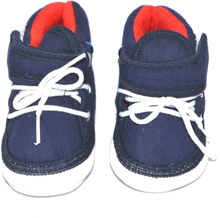 07186c475069 Pin to Pen Baby Booties Musical Boots with White Lace Up   Velcro Size  5  Booties (Toe to Heel Length - 11 cm Blue)