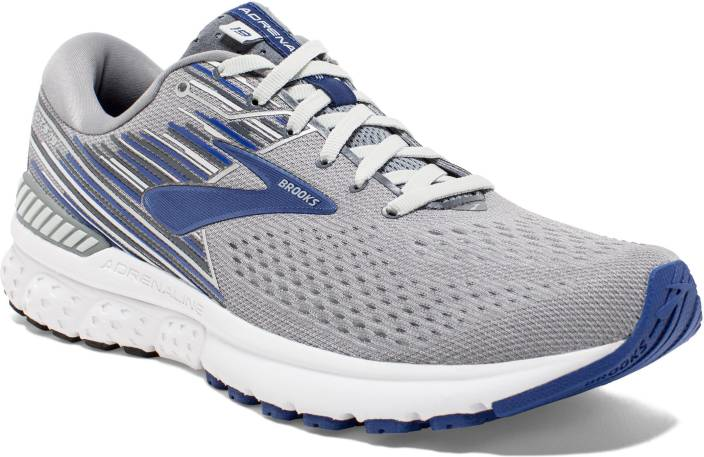 1f94b4a9c6d Brooks Adrenaline Gts 19 Synthetic Grey Running Shoes For Men