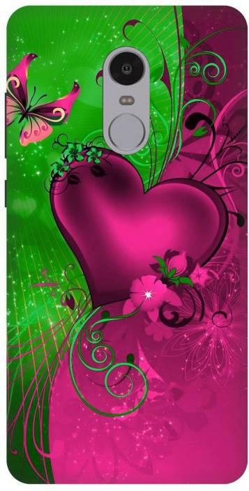 Rajvila Back Cover for Mi Redmi Note 4 (Multicolor, Waterproof, Silicon)