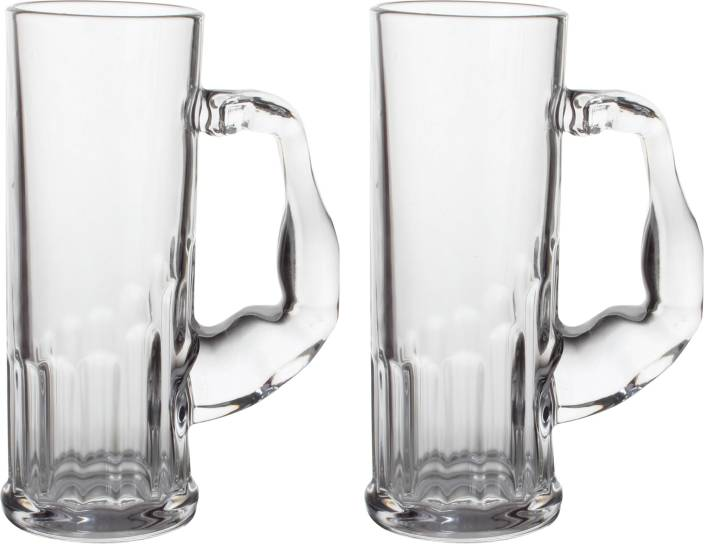09bfc08e4a99 Homewoww Muscle Man Beer| Chill Beer | Party | Beer | Drinking Glass | Beer  Set of 2 Glass Mug (750 ml, Pack of 2)