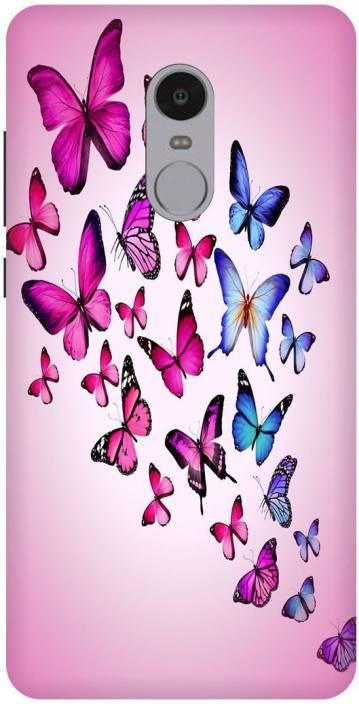 Varsha Enterprises Back Cover for Mi Radmi Note 4 (Multicolor, Waterproof)