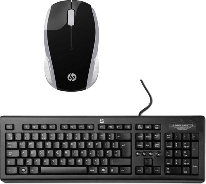 92ae82f66b2 HP Multimedia Keyboard-JBF16-Wireless Mouseh-HP 200CB_ Black_White Combo  Set Price in India - Buy HP Multimedia Keyboard-JBF16-Wireless Mouseh-HP  200CB_ ...