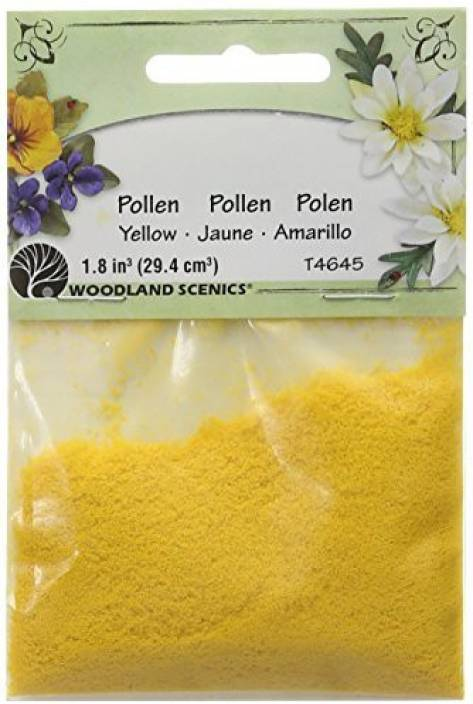 Woodland Scenics T46-45 Pollen, 1-Ounce, Yellow - T46-45