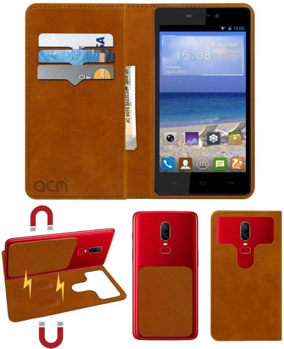 finest selection 2eb8a 5d845 ACM Flip Cover for Gionee Marathon M5 Plus - ACM : Flipkart.com
