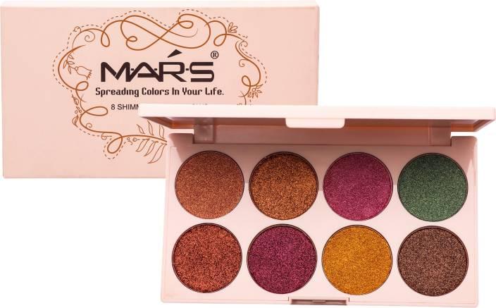 93f1634f4eaf4 Mars Long Lasting Cream Eyeshadow Highlighter palette 12 g