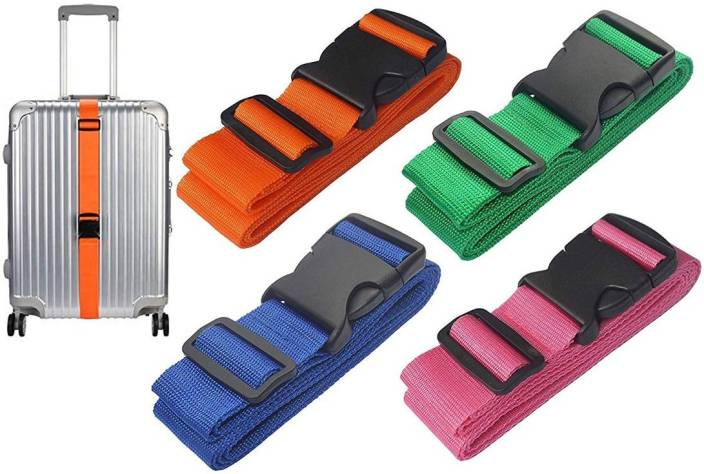 b517d0770 DIY Crafts Color Luggage Straps Suitcase Lock Belt Strap Luggage Straps  Luggage Strap (Multicolor)