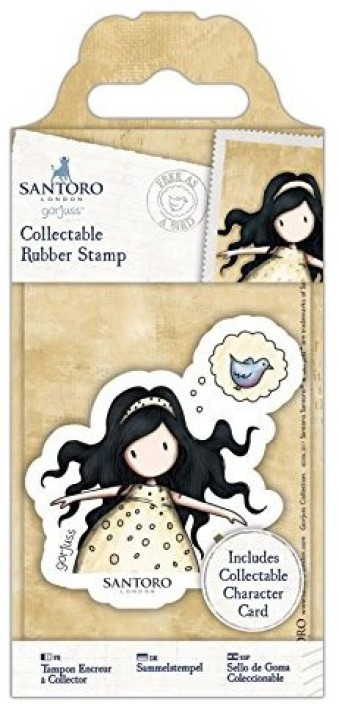 Collectable Rubber Stamp No 12 On Top Of The World Santoro
