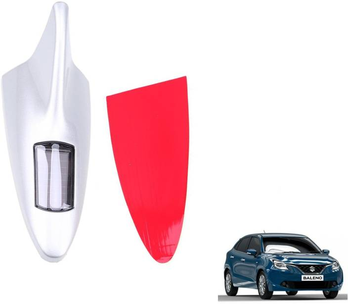 Roy Imaging Ry012 Solar Led Roof Spoiler Shark Fin Car Antenna Flashing Light Decorative Lights White Fancy