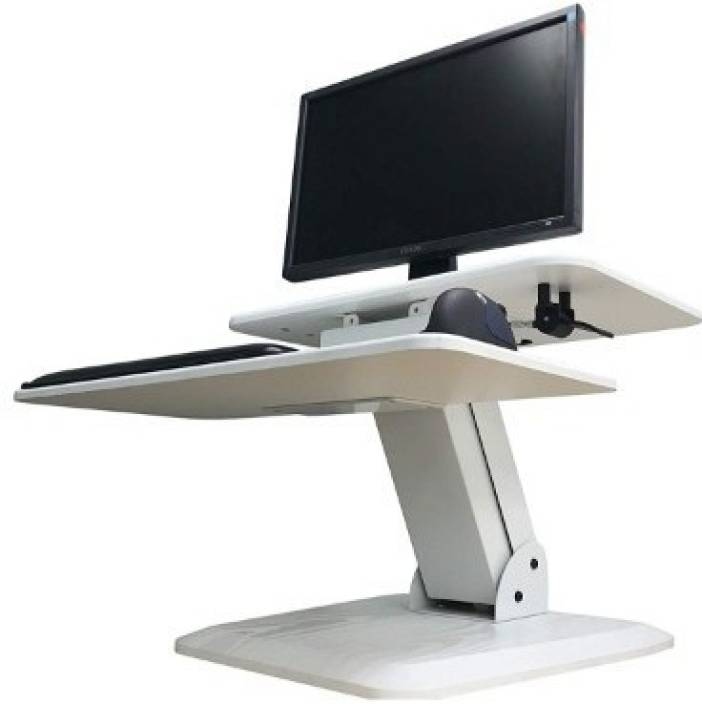 rife Height Adjustable Standing Desk Gas Spring Monitor