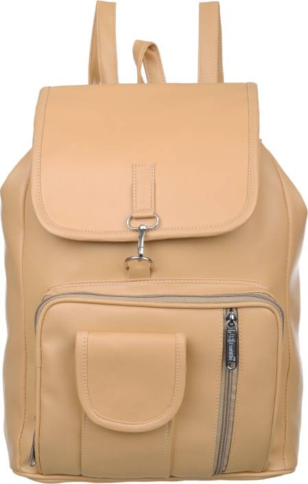 0cd053437 FD Fashion college backpack for girls::backpack women college bags::Branded  backpack::Backpack for girls and women::Women Backpack 15 L Backpack (Beige)