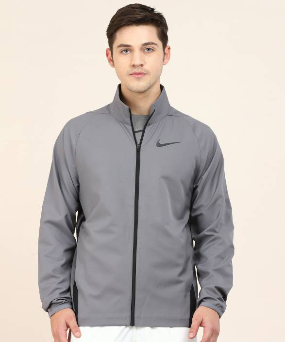 a5f3491dead1 Nike Full Sleeve Solid Men Jacket - Buy Nike Full Sleeve Solid Men Jacket  Online at Best Prices in India