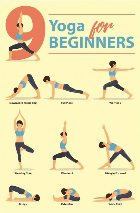 Yoga Poster Poses