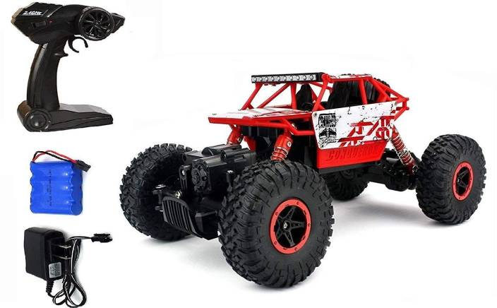 725f420958 Civil 1 18 4WD Rally Car Rock Crawler Off Road Race Monster Truck Dirt  Drift Waterproof Remote Monster Truck 4 Wheel Drive RK11 (Multicolor)