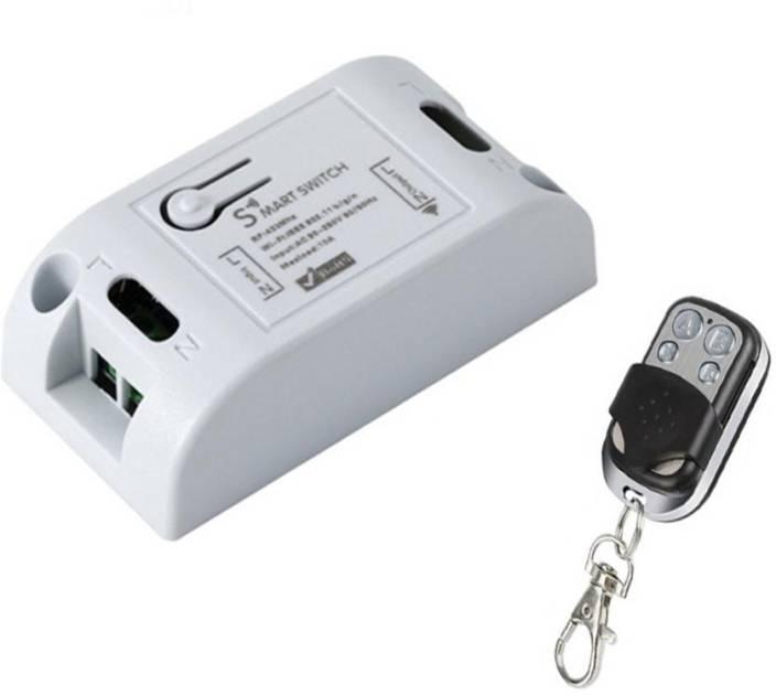 Techlogics Smart Switch & 433Mhz RF Remote Control Smart