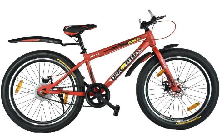 Atlas Kobra 3 0 Dual Disc Brake Fat Tyres Bike For Teenagers