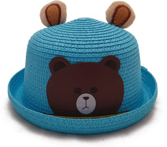 98d6a9054 Vritraz Beautiful straw hat spring summer children baby boy girl ...