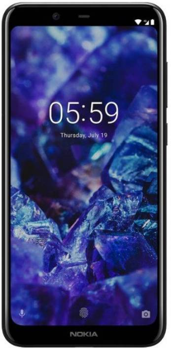 Nokia 5.1 Plus (Black, 64 GB)