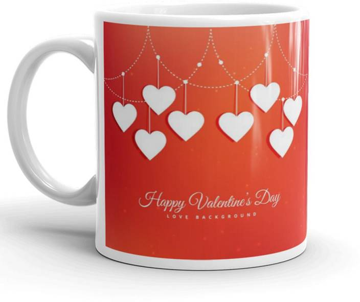 Dreamcart Valentine Day Gift For Love Best Gift For Girlfriend Birthday Valentine Gift 320Ml Multicolor (Mug3194) Ceramic Mug (330 ml)