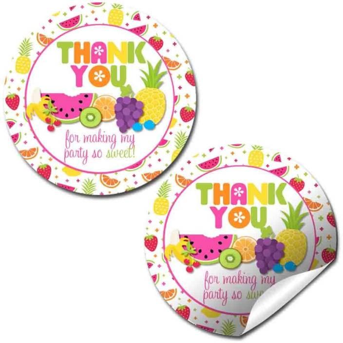 Amanda Creation Tutti Fruitti Birthday Party Thank You