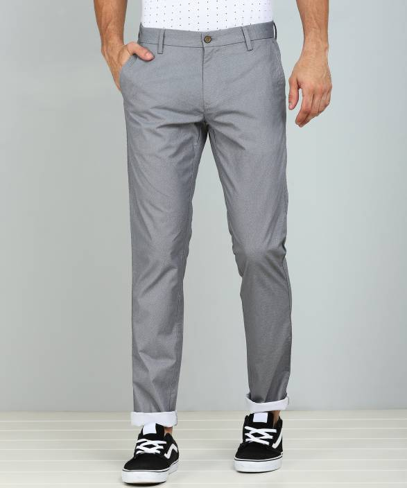 cec55cb2d971 Arrow Sport Regular Fit Men Grey Trousers - Buy Arrow Sport Regular Fit Men  Grey Trousers Online at Best Prices in India