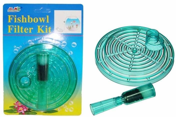 Foodie Puppies Fish Bowl Filter Kit Under Gravel Filter