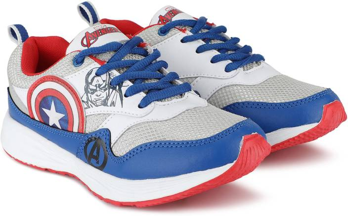 Avengers Boys Lace Running Shoes
