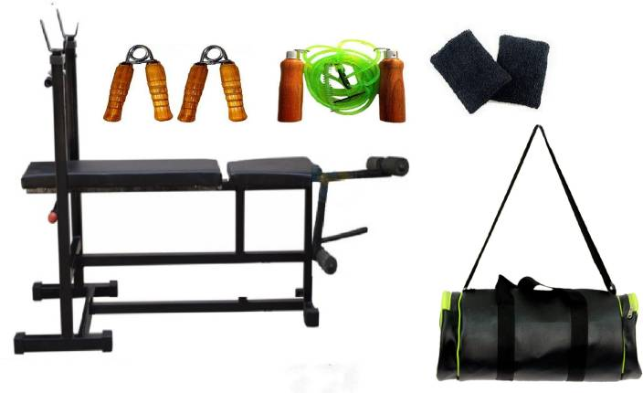 07267356639a Venom 3 in 1 Double Support Bench ( With 175 Kg. Holding Capacity ...
