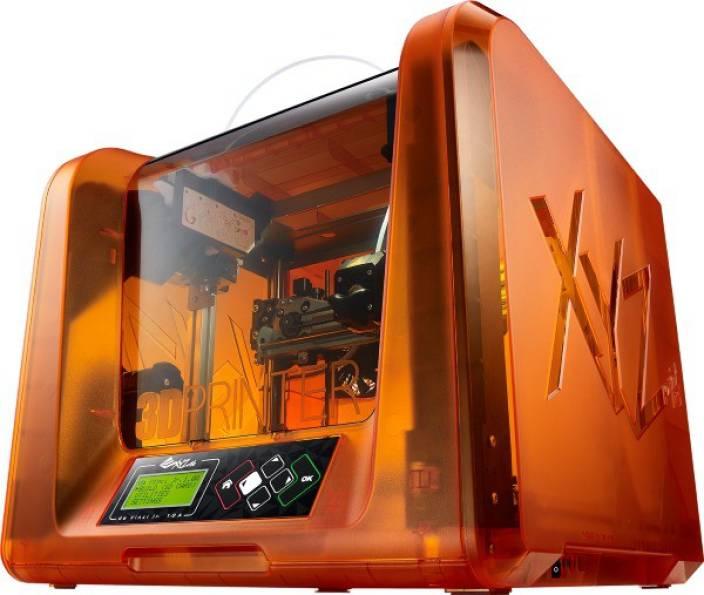 XYZPrinting Da Vinci Jr  1 0A Single Function Printer - XYZPrinting