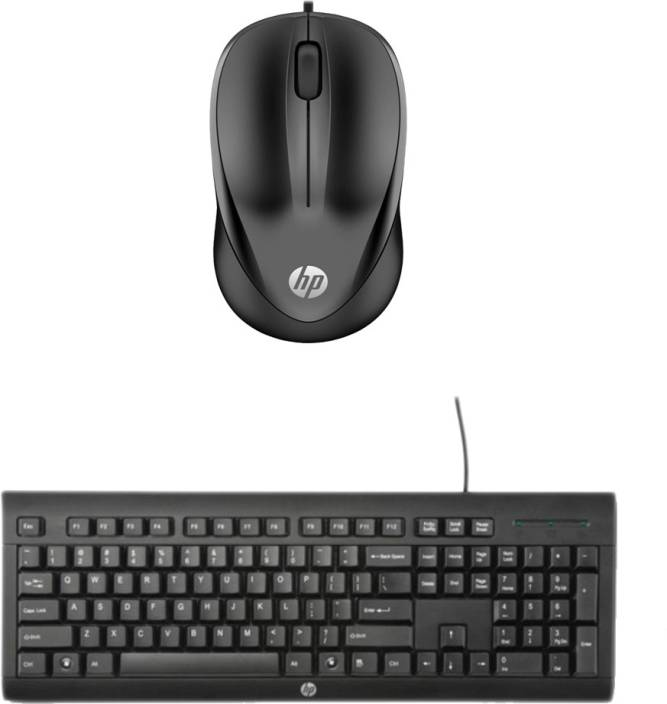 90ac78ec69d HP Multimedia Keyboard (English)-K1500-Black-Wired Mouse-HP 1000_ Black Combo  Set Price in India - Buy HP Multimedia Keyboard (English)-K1500-Black-Wired  ...