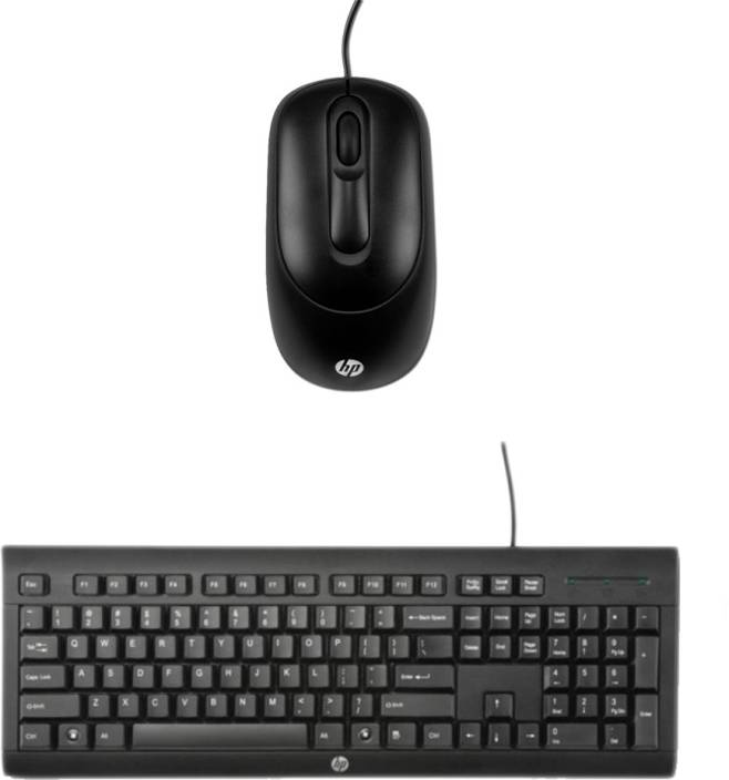 ae3a677dcb1 HP Multimedia Keyboard (English)-K1500-Black-Wired Mouse-HPX900_ Black Combo  Set Price in India - Buy HP Multimedia Keyboard (English)-K1500-Black-Wired  ...
